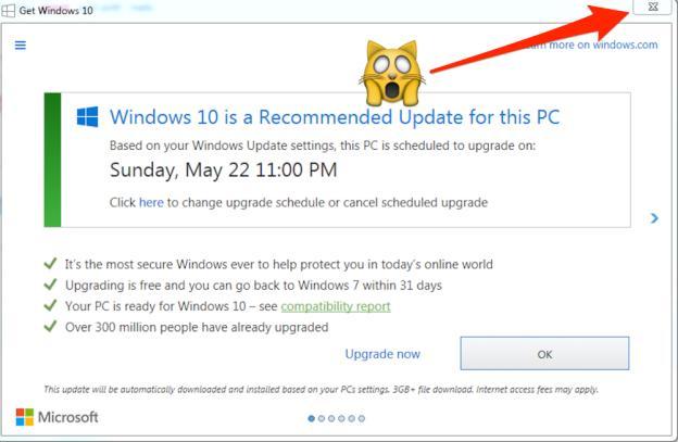 Microsoft стала неприлично назойливой с Windows 10
