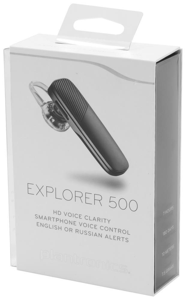 На связи каждую минуту: обзор Bluetooth-гарнитуры Plantronics Explorer 500
