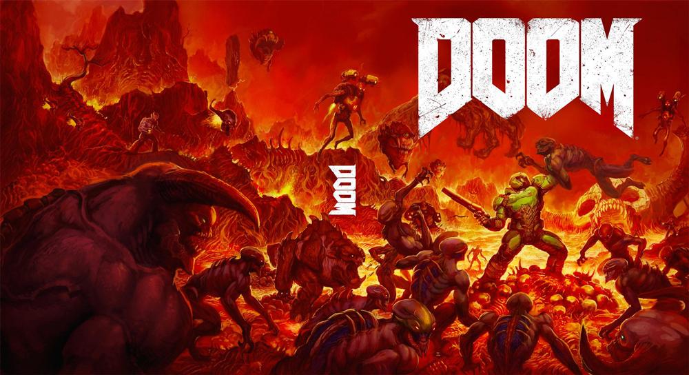 Смотрим геймплей Doom с новой GeForce GTX 1080