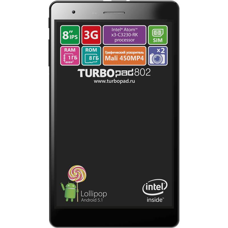Восемь «атомных» дюймов: Обзор планшета TurboPad 802i