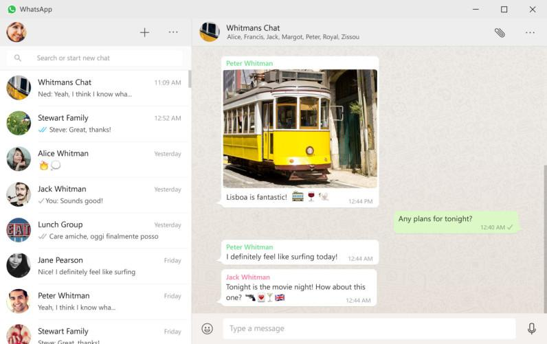WhatsApp выпустил клиент для ПК, в бета-версии появились видеозвонки