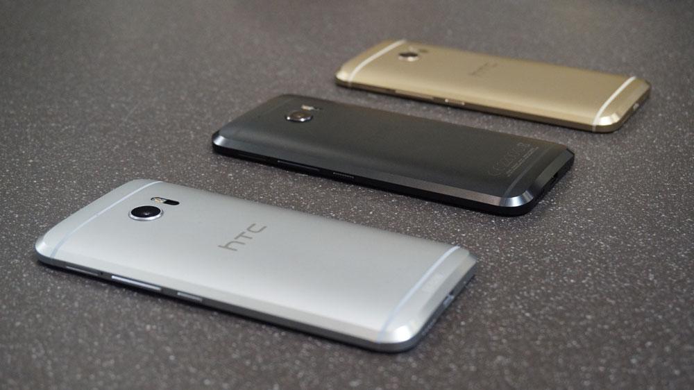 1,11 гигабайта Android Nougat для HTC 10