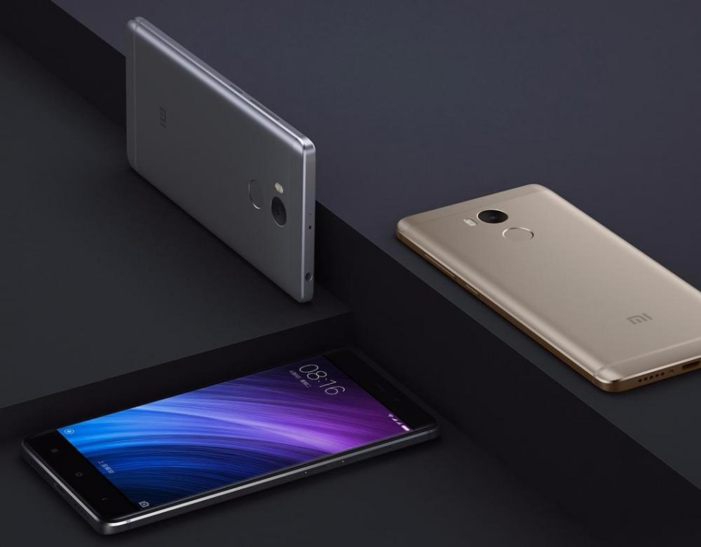3 версии Xiaomi Redmi 4 официально