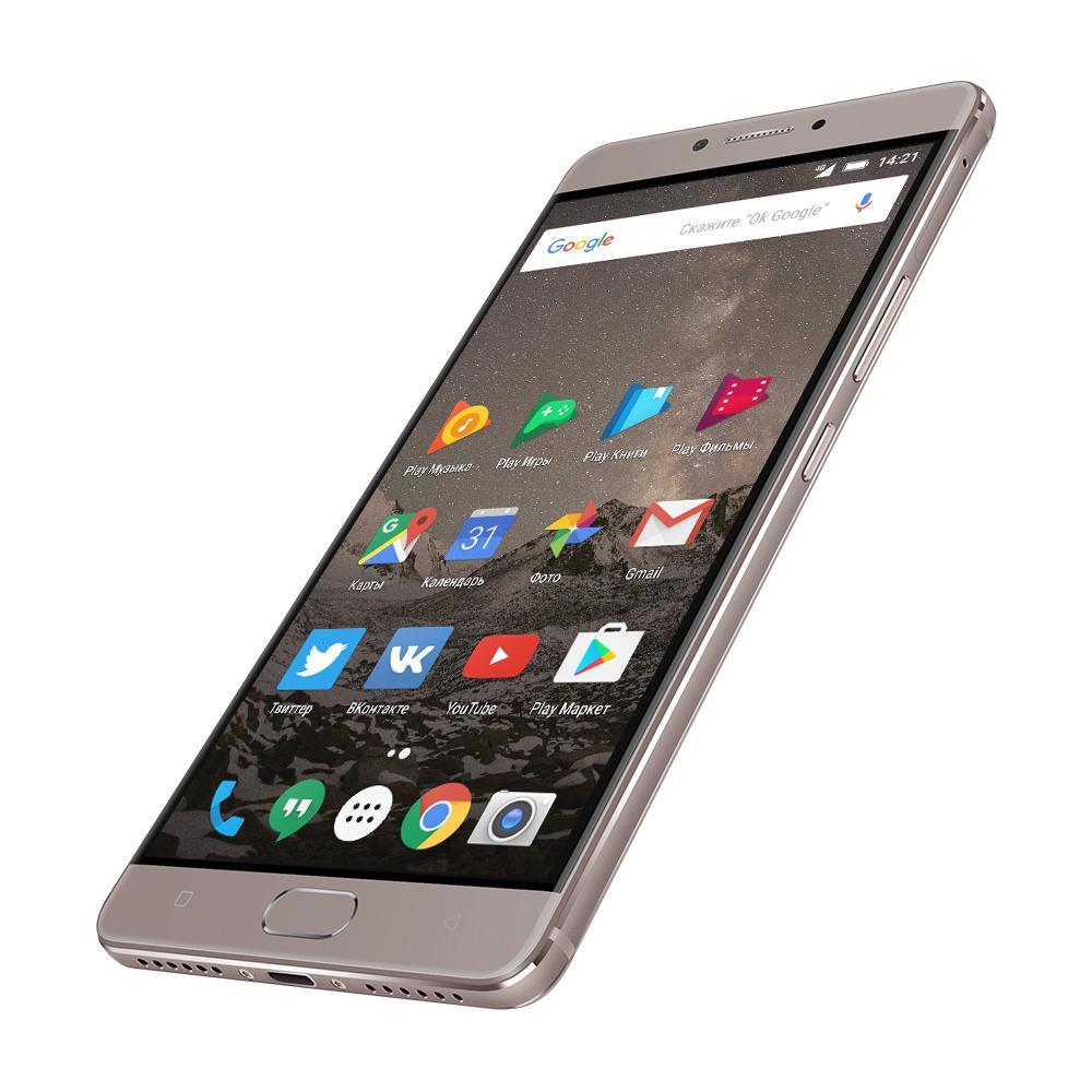 Металлический Highscreen Power Five Max с аккумулятором на 5000 mAh