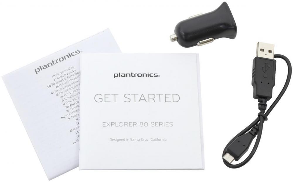 Минимум кнопок, максимум функций: Bluetooth-гарнитура Plantronics Explorer 80