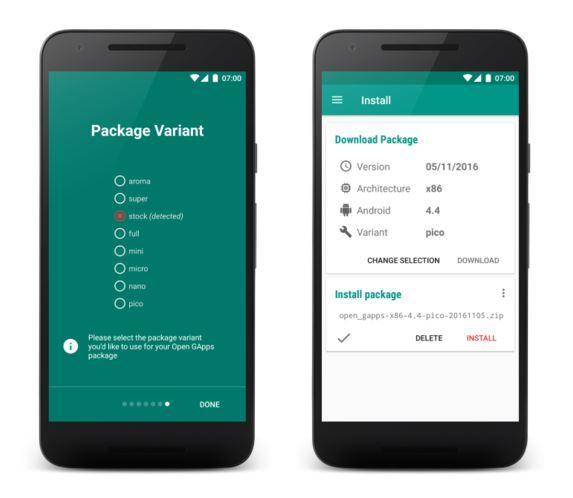 Приложение Open Gapps стало доступно в Google Play