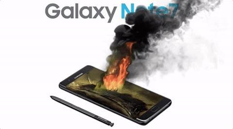 Samsung может начать продажи восстановленных Galaxy Note 7