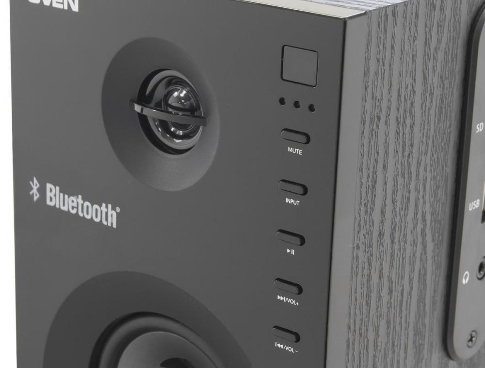 Стереопара с поддержкой Bluetooth: обзор акустики SVEN SPS-615