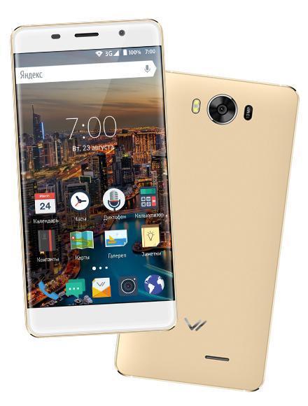 Стильные смартфоны от российской компании Vertex