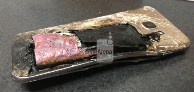 Чёрная полоса у Samsung: самовозгорания Galaxy S7 edge