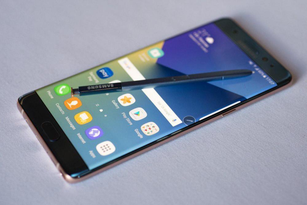 Galaxy Note 7 может быть снова отозван