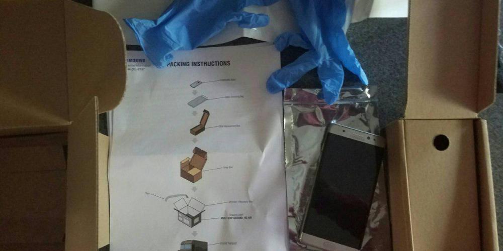 Крест на Galaxy Note 7. Уход с рынка. Набор для безопасной утилизации