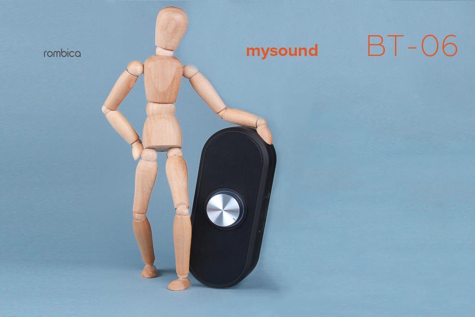 Мал соловей, да голос велик. Компактный беспроводной аудиопроигрыватель  BT-06 от Rombica