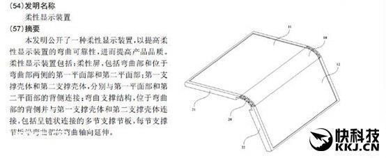 Meizu получила патент на «Гибкое устройство отображения»