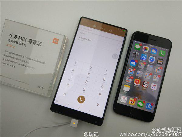 Mi Mix – безрамочный смартфон от Xiaomi