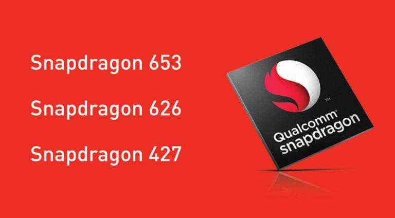 Qualcomm представила Snapdragon 427, Snapdragon 626 и Snapdragon 653 среднего уровня