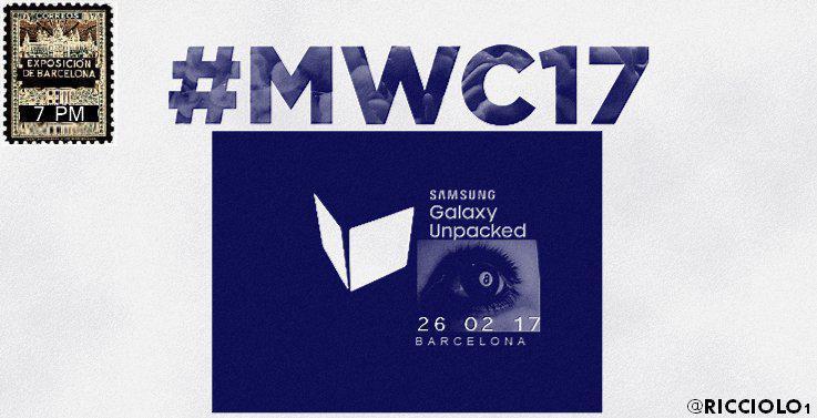 Стала известна дата презентации Samsung Galaxy S8
