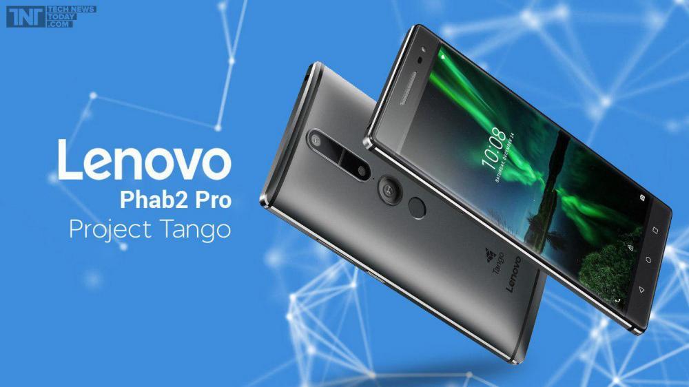 Стало известно, когда старт продаж Lenovo Phab 2 Pro
