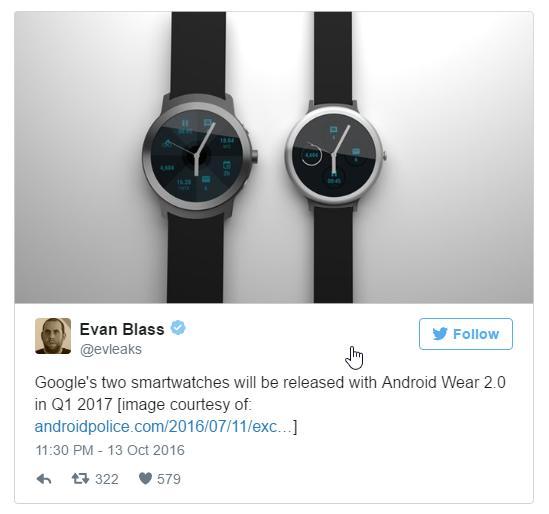 Умные часы от Google всё ближе