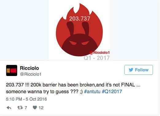 В AnTuTu пробили планку в 200 000 баллов