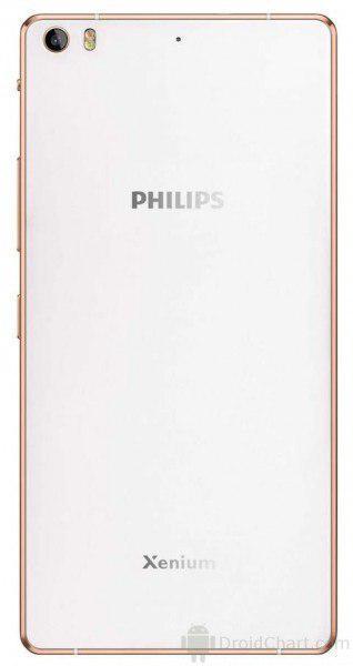 Xenium X818 - новый флагман Philips с аккумулятором 3900 мАч