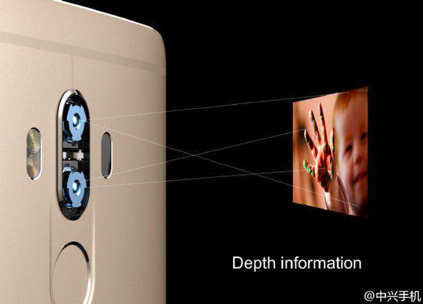 ZTE представила Axon 7 Max, оснащенного 3D экраном и двойной 3D камерой