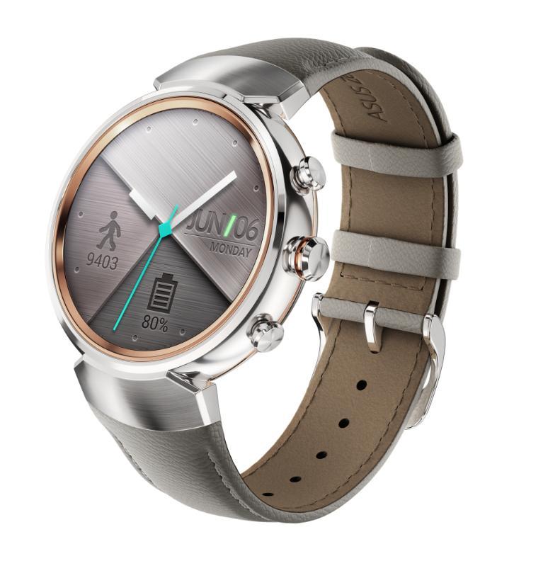 В полку круглых умных часов прибыло - Asus Zenwatch 3