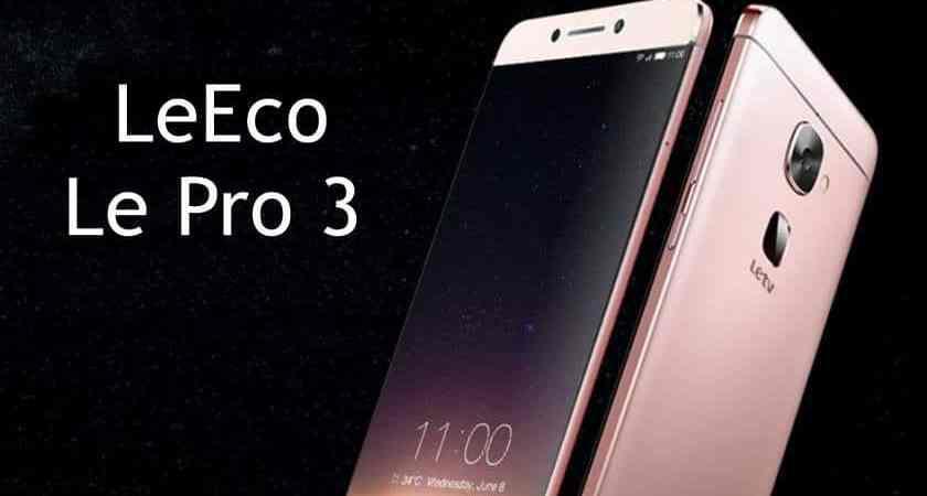 Анонсирован флагман LeEco Le Pro 3