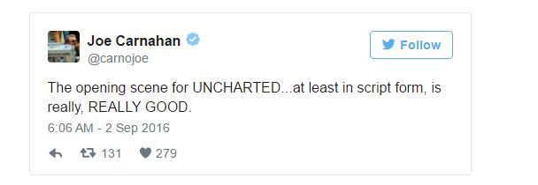 Фильм по Uncharted выйдет, но не известно когда