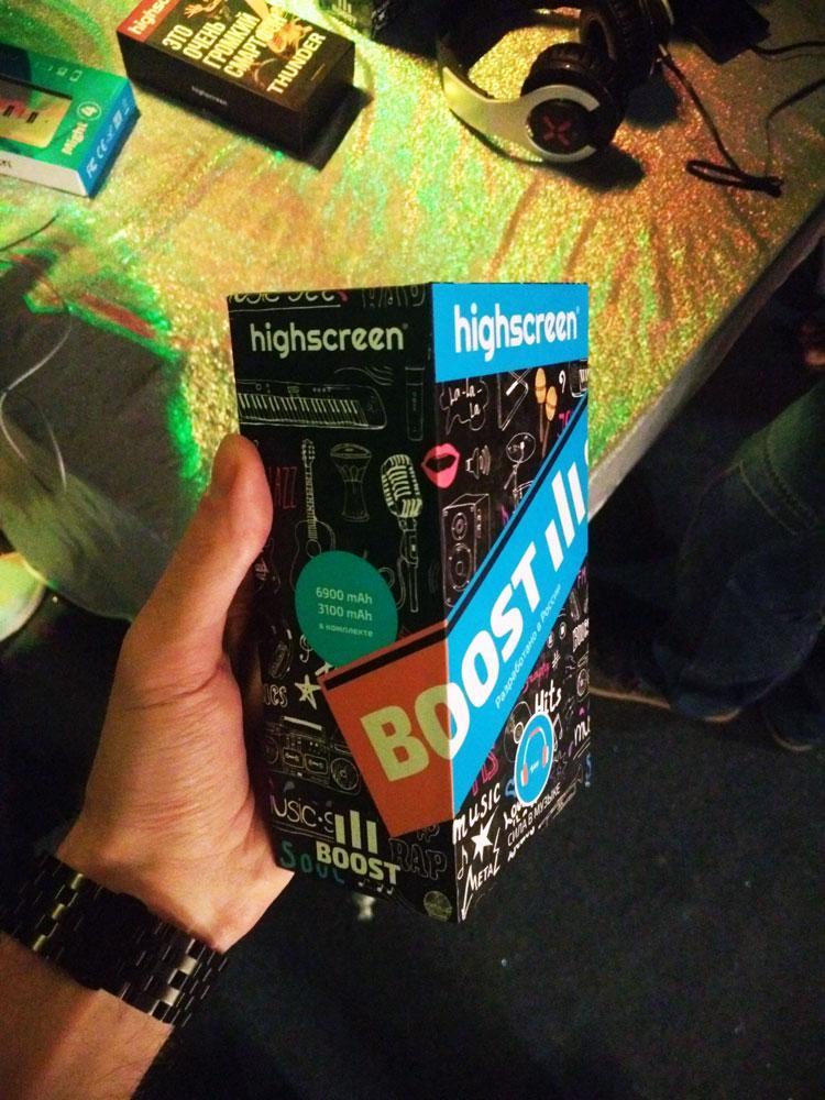 Громко и долго - Highscreen Boost 3