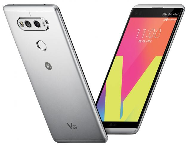 LG показала новый флагман V20