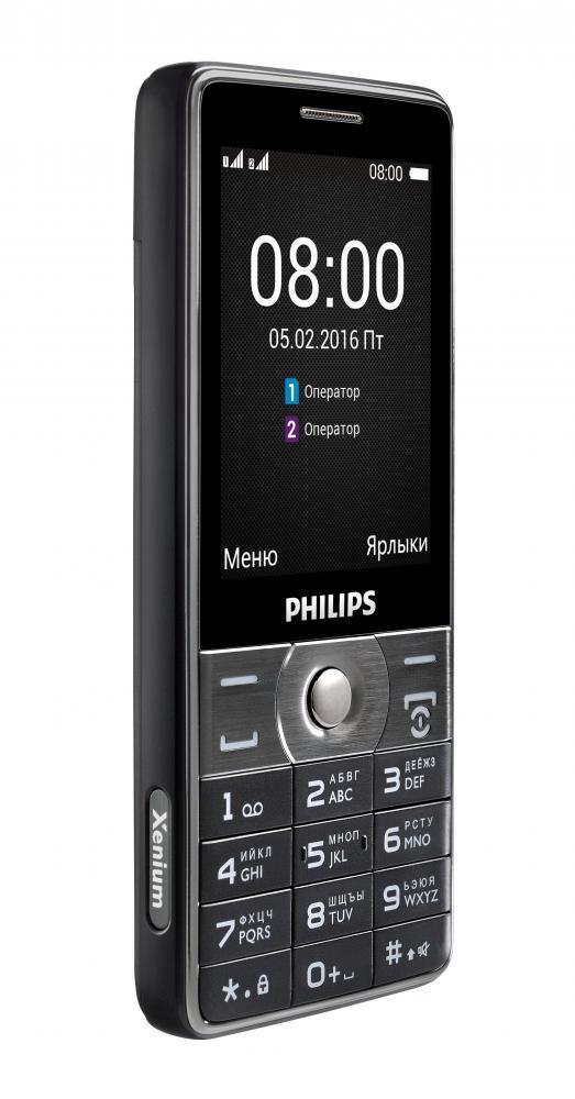 Philips Xenium E570 – полгода без подзарядки
