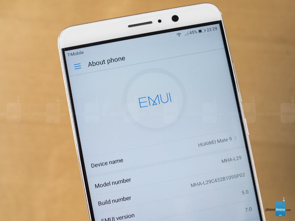 Huawei уже тестирует Android O На смартфоне Mate 9