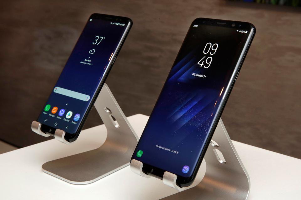 Samsung Galaxy S8 дороже в производстве, чем конкуренты