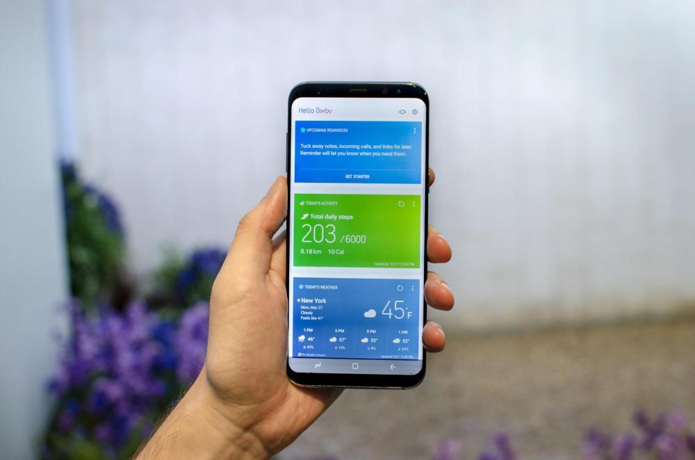 Samsung не разрешает переназначать кнопку Bixby