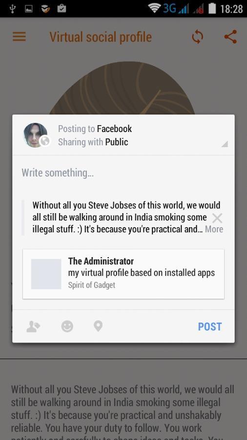 Spirit of Gadget - рекомендует приложения для Android