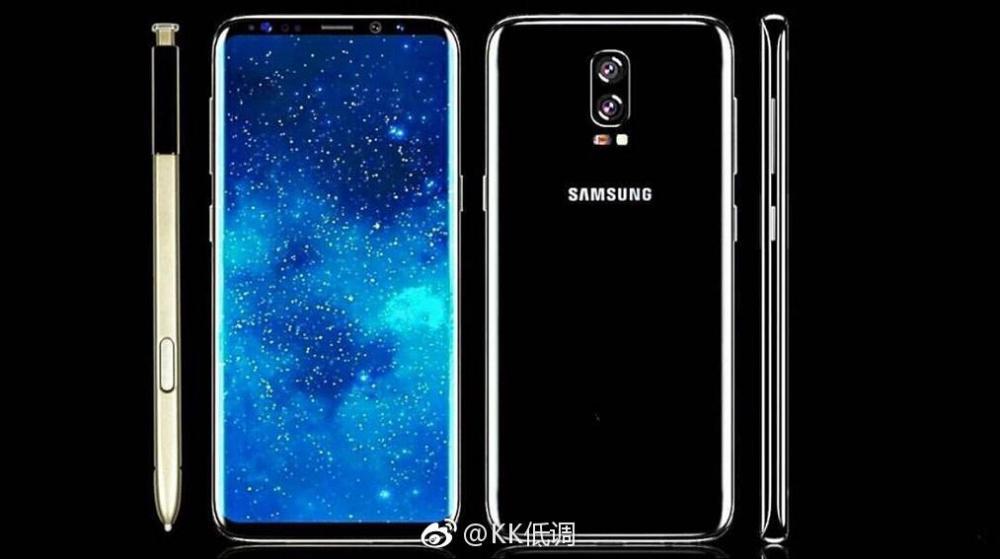 Таким мог бы оказаться Samsung Galaxy S8