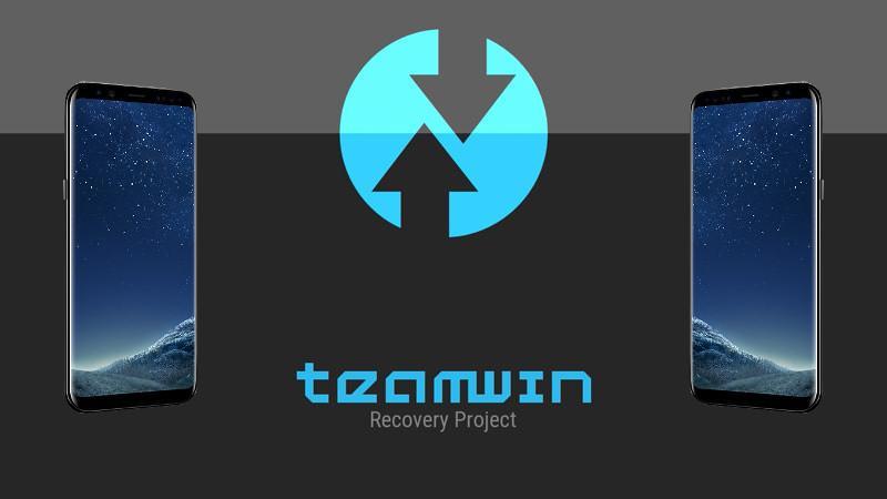 Team Win Recovery Project (TWRP) теперь поддерживает Samsung Galaxy S8