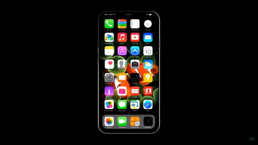 Возможные спецификации iPhone 8 и новое видео