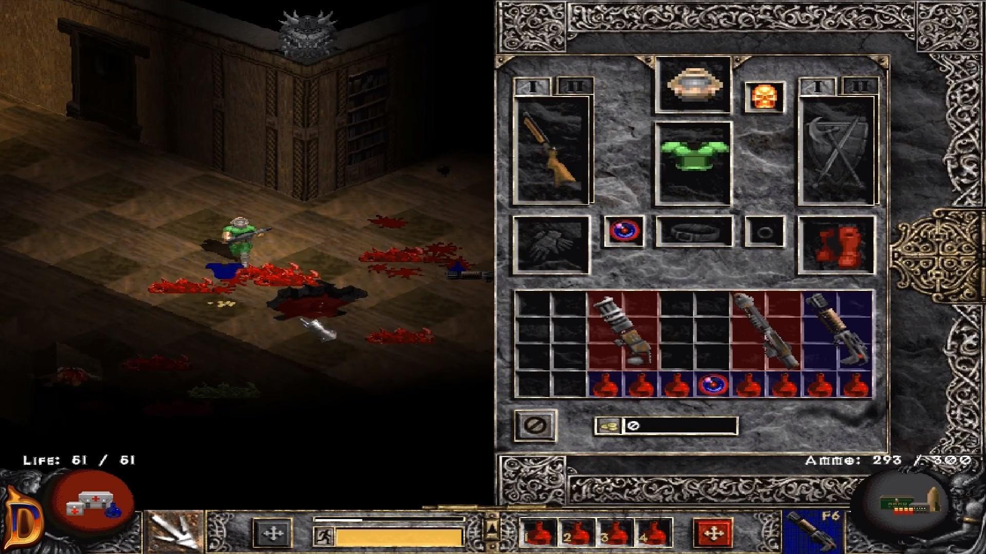 Что это? Diablo IIили Doom 2?