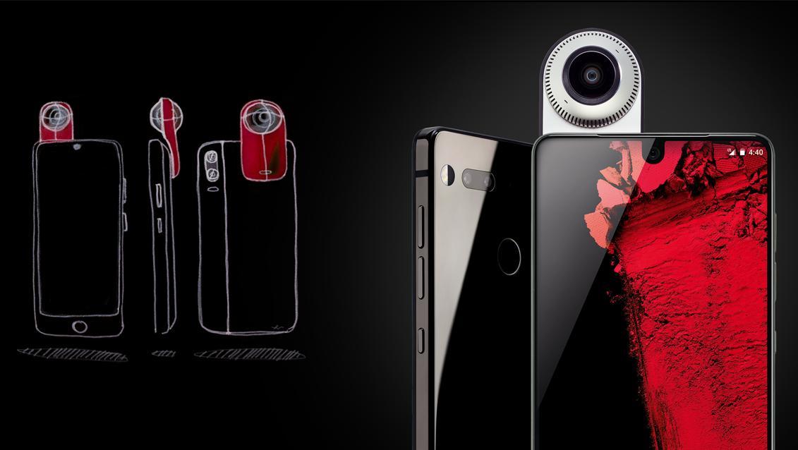 Энди Рубин обещает долгую поддержку Essential Phone PH1