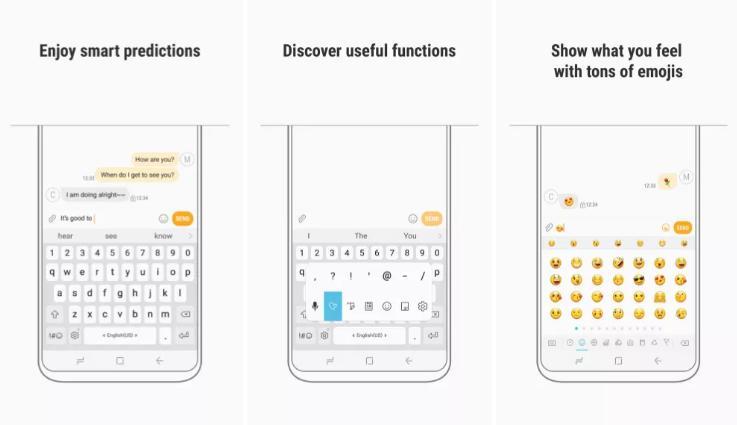 Фирменная клавиатура Samsung появилась вGoogle Play Store