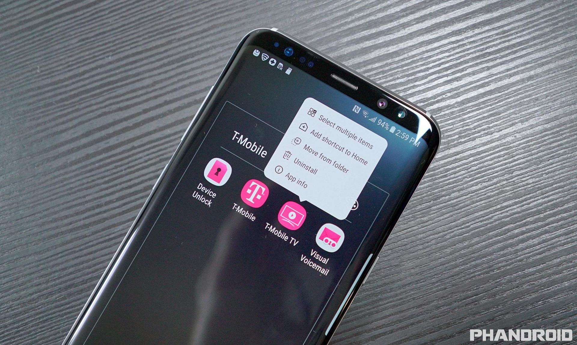 Galaxy Note 8 сэкраном различающим силу нажатия