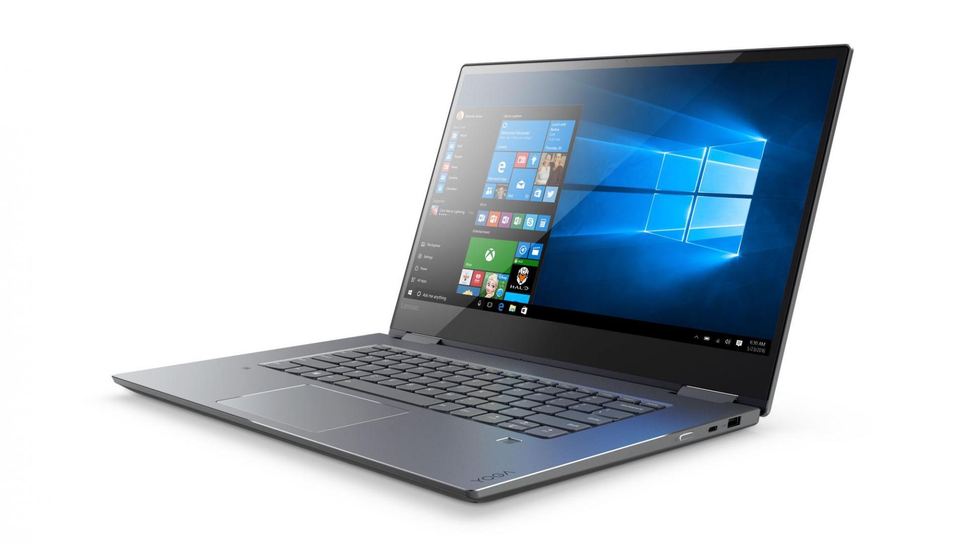 Объявлена русская цена ноутбука Lenovo Yoga 720-15