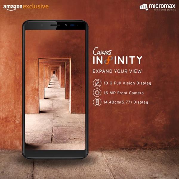 Micromax Canvas Infinity — штука для тех, кому нехватает наGalaxy S8