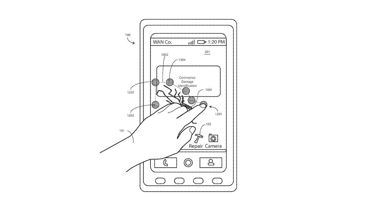 Motorola придумала самовосстанавливающийся экран для техники