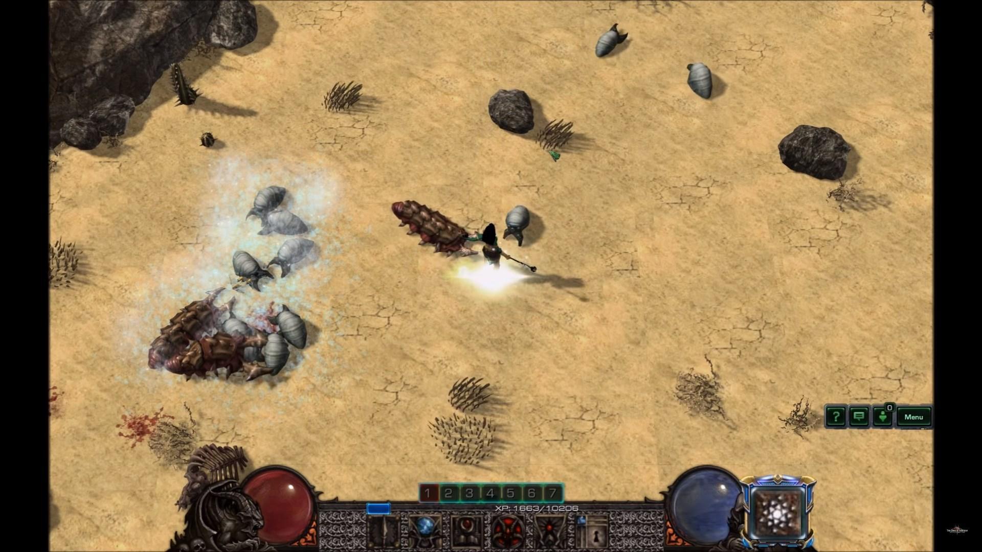Трейлер Diablo IIнадвижке StarCraft II. Впечатляет!