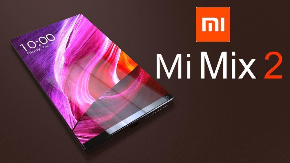 Xiaomi MiMix 2 выглядит совсем ужбезрамочным иархифункциональным