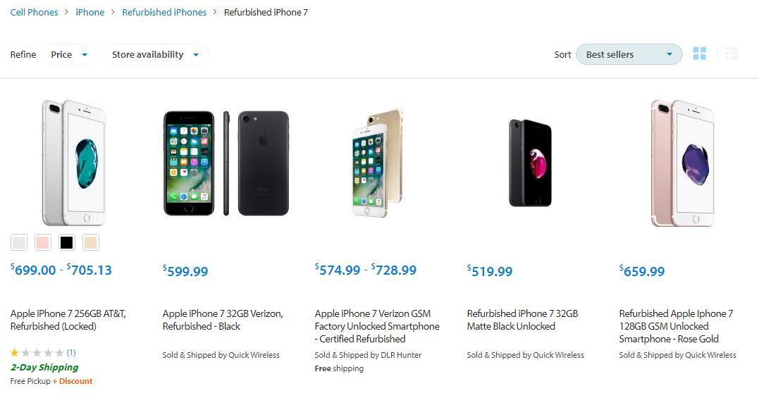 Зачем нужны восстановленные iPhone? Вчём различие?