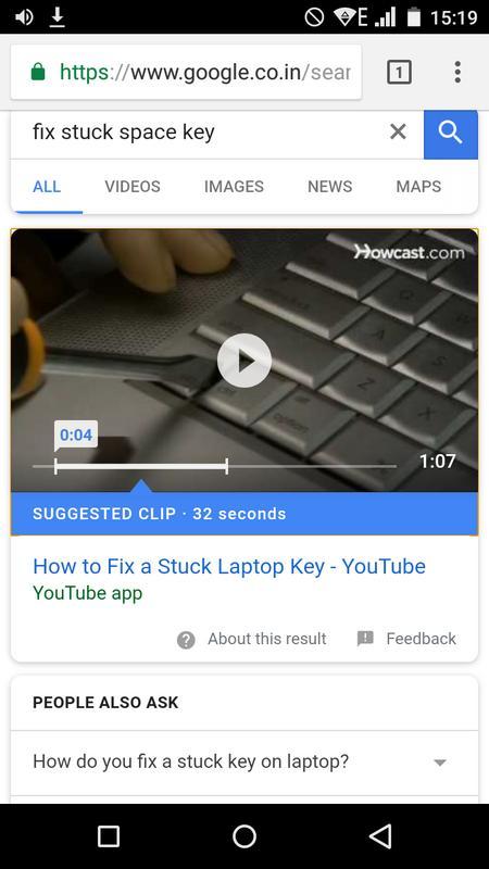 Google Now научился предлагать к просмотру фрагменты видео на YouTube
